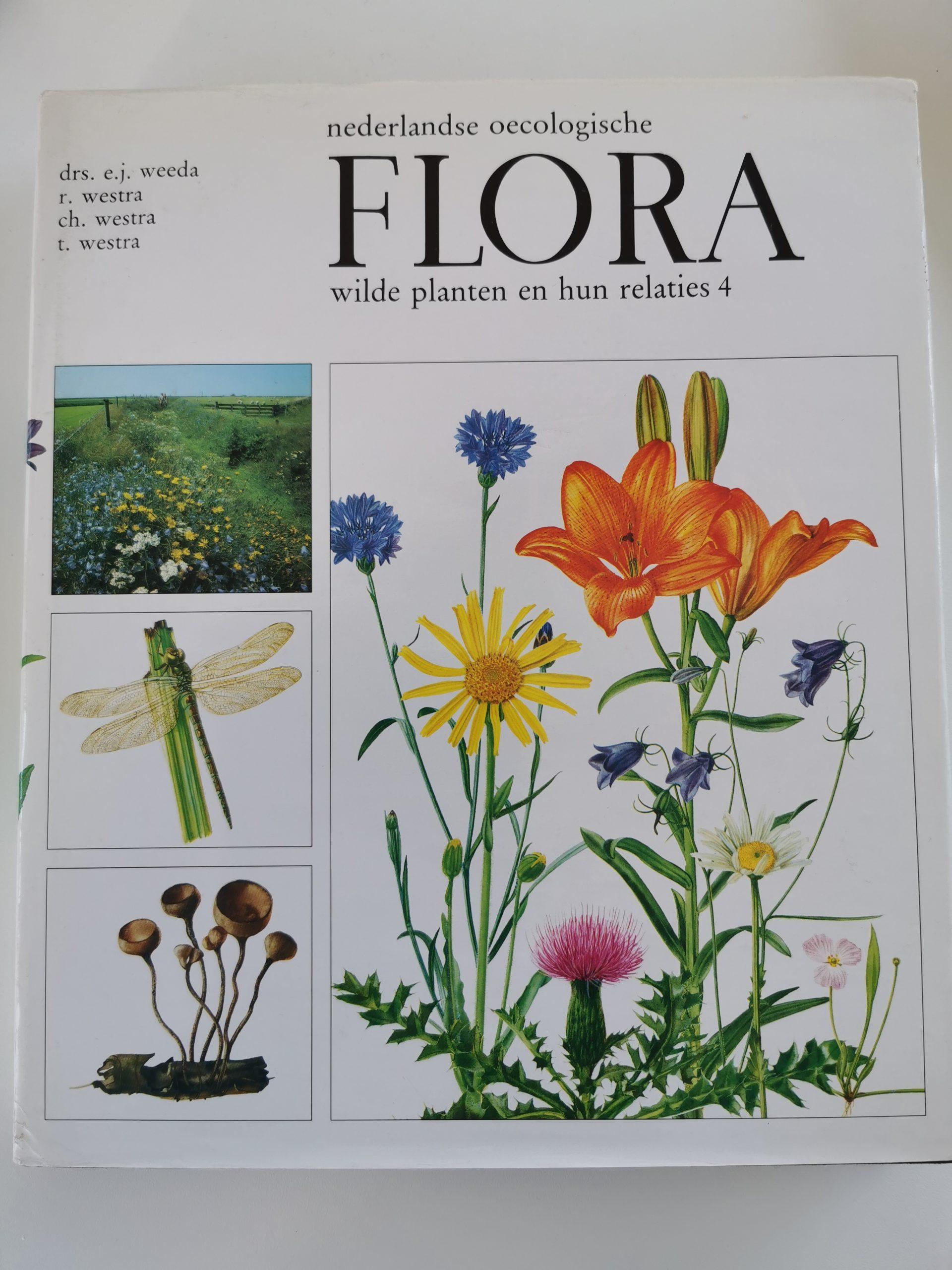 Nederlandse oecologische flora, wilde planten en hun relaties 4