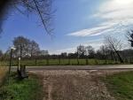 Zicht op kasteel Marnix Sint Aldegonde vanaf Lange Dreef